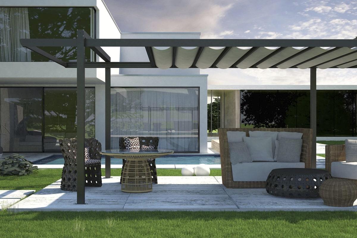 teras tasarımı ve çelik konstrüksiyonlar